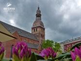 Der Dom von Riga ist die größte Kirche des Baltikums
